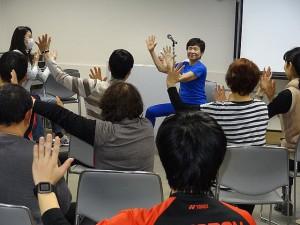 第9回ロコモン体操講習会 太藻ゆみこ
