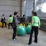 ボール体操 画像