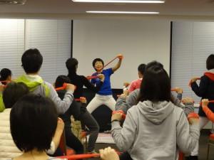 第10回ロコモン体操講習会実技