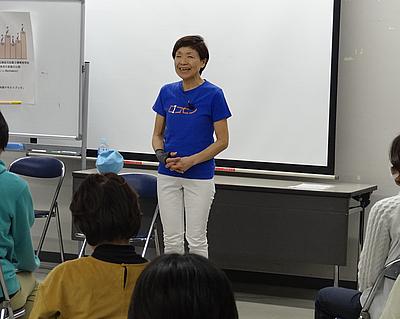 第12回ロコモン体操指導者講習会 体操指導者太藻ゆみこ氏
